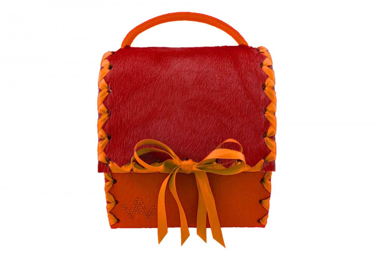 Herzerl Exklusiv Orange Rot