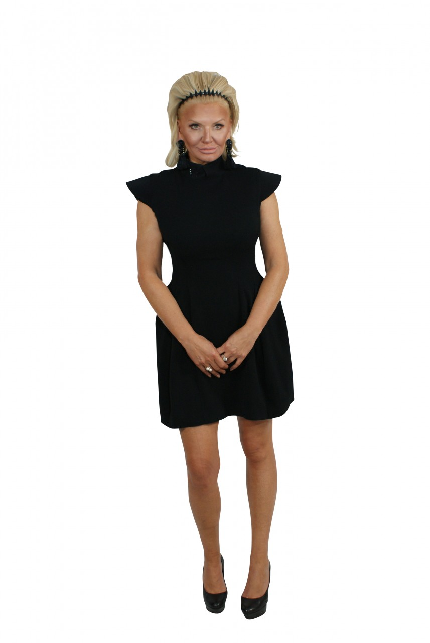 Kleid Eve Just Black