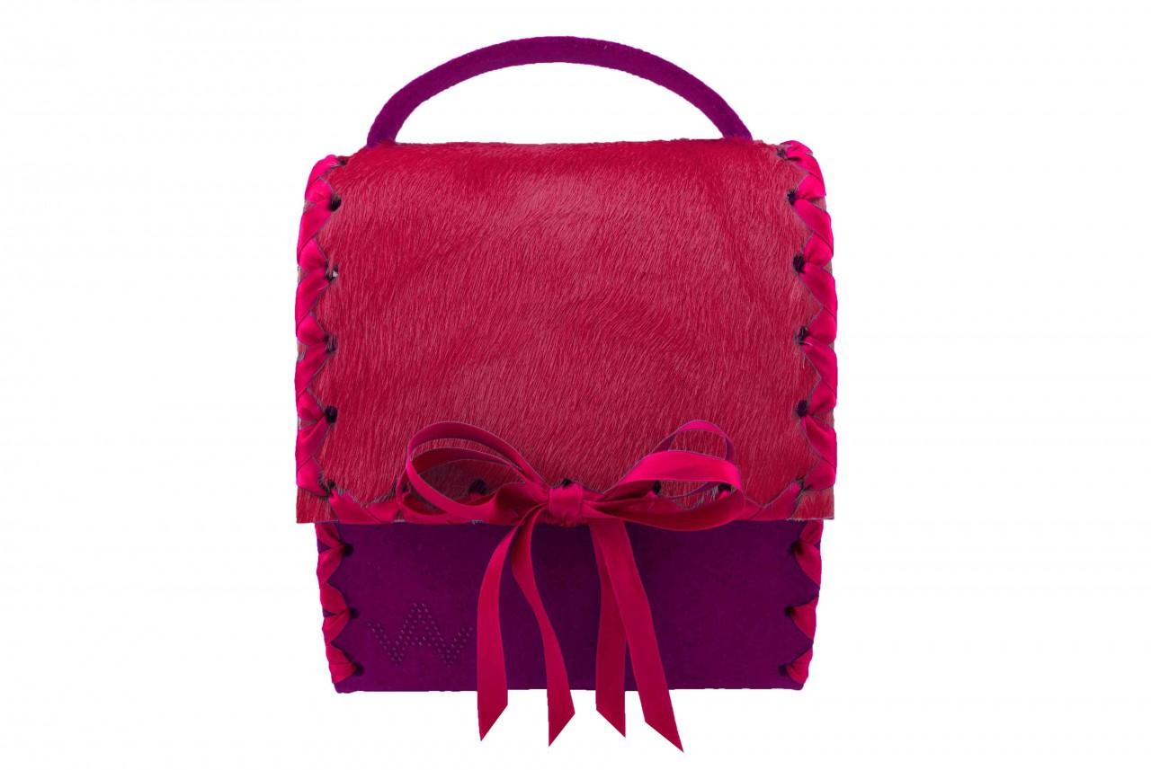 Herzerl Exklusiv Dunkelrosa Pink