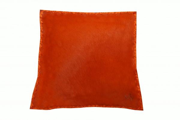 Kissen Fell Exklusiv Orange