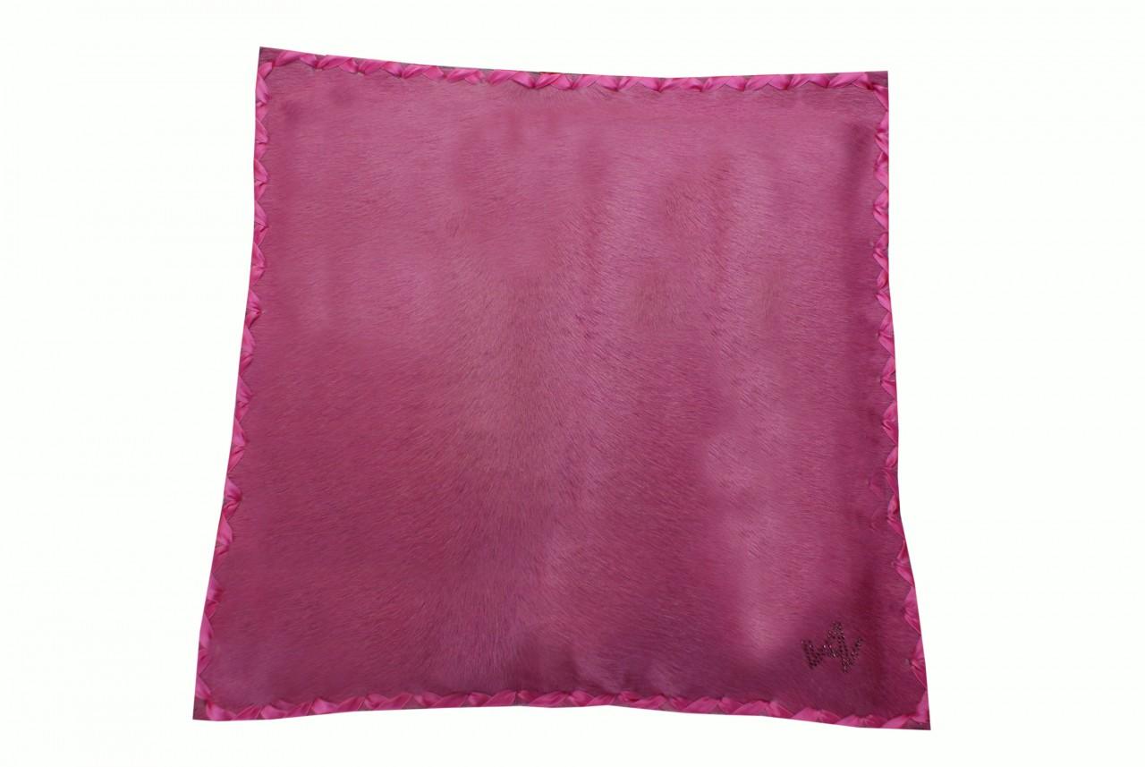 Kissen Fell Exklusiv Pink
