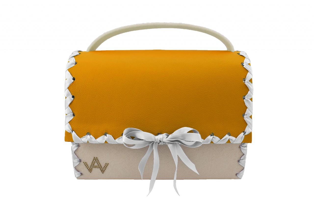 Augenschmaus Klassik Wollweiss Orange