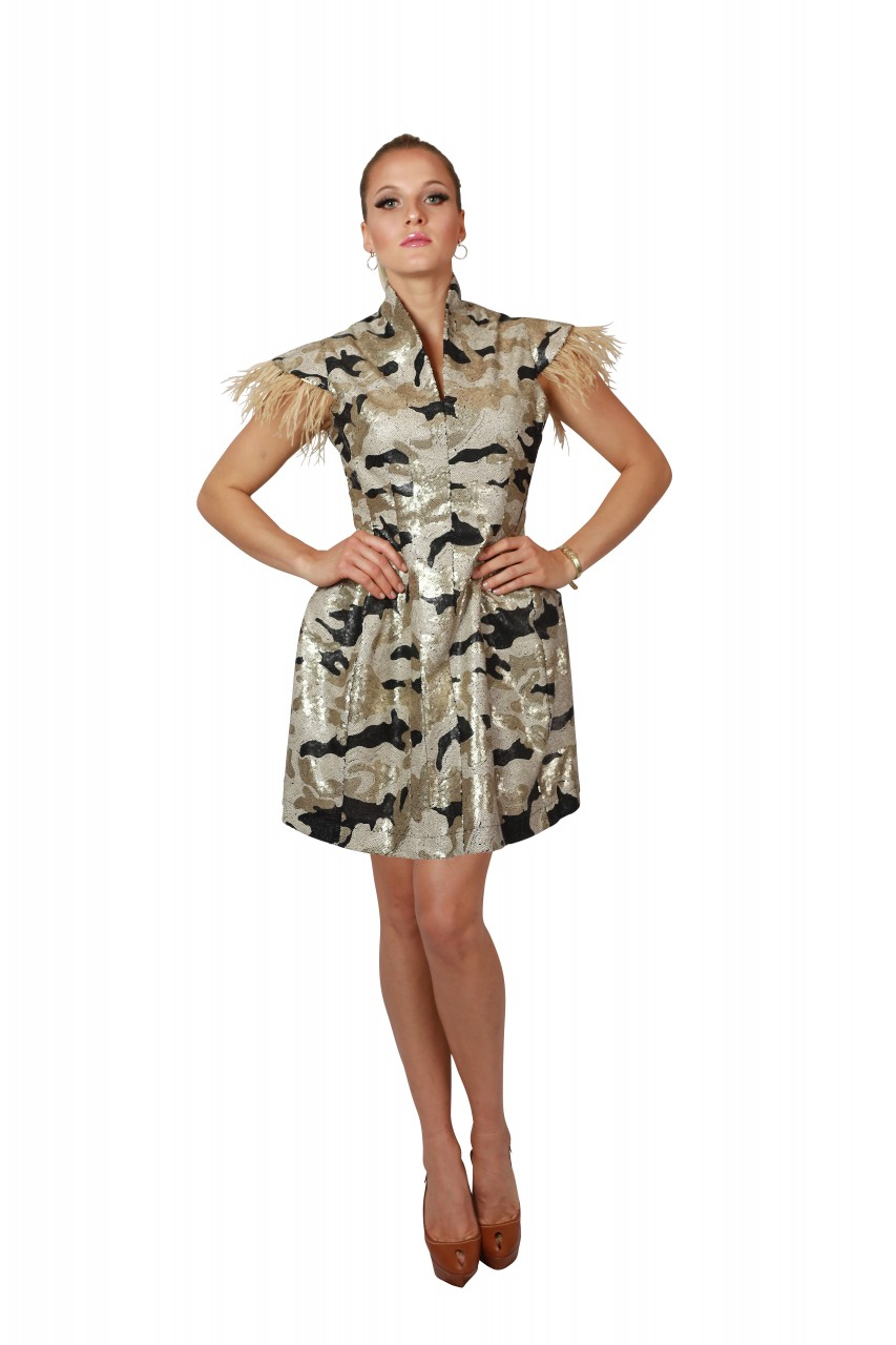 Kleid Eve Masterpiece Camouflage