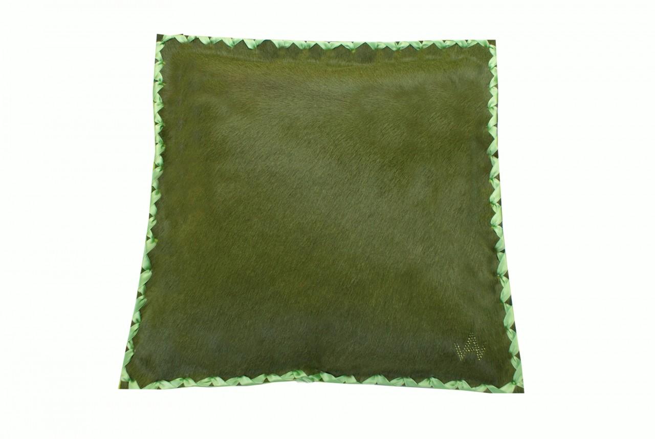 Kissen Fell Exklusiv Grün