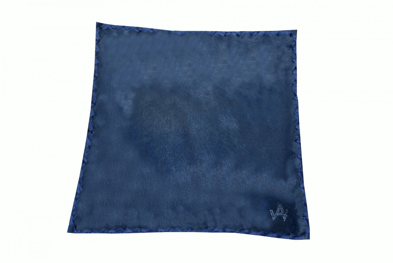 Kissen Fell Exklusiv Blau