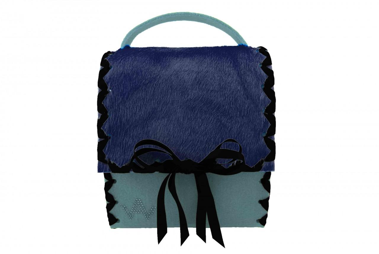 Herzerl Exklusiv Hellblau Blau