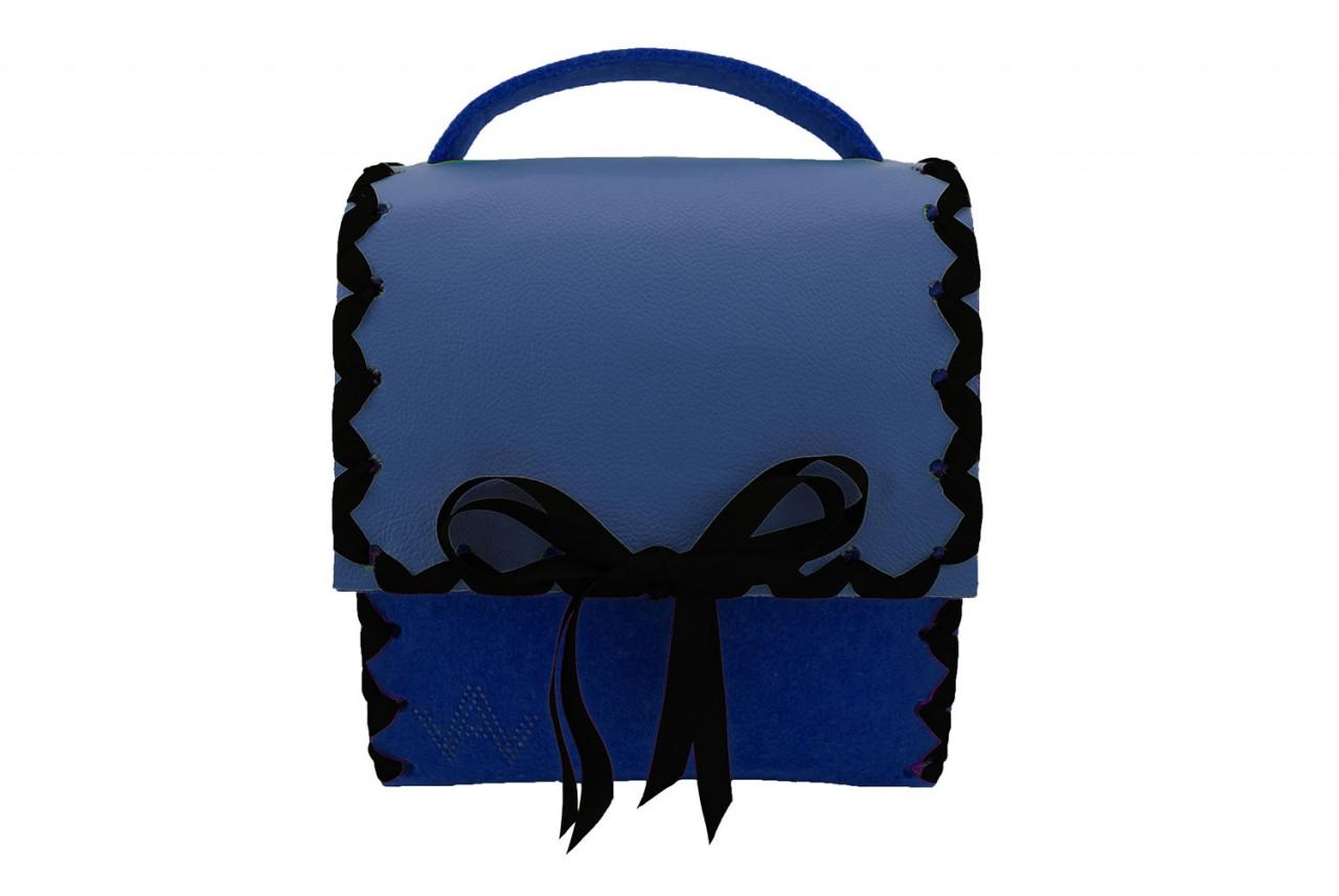 Herzerl Klassik Blau Capriblau