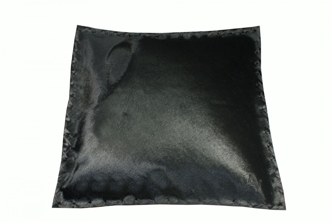 Kissen Fell Exklusiv schwarz