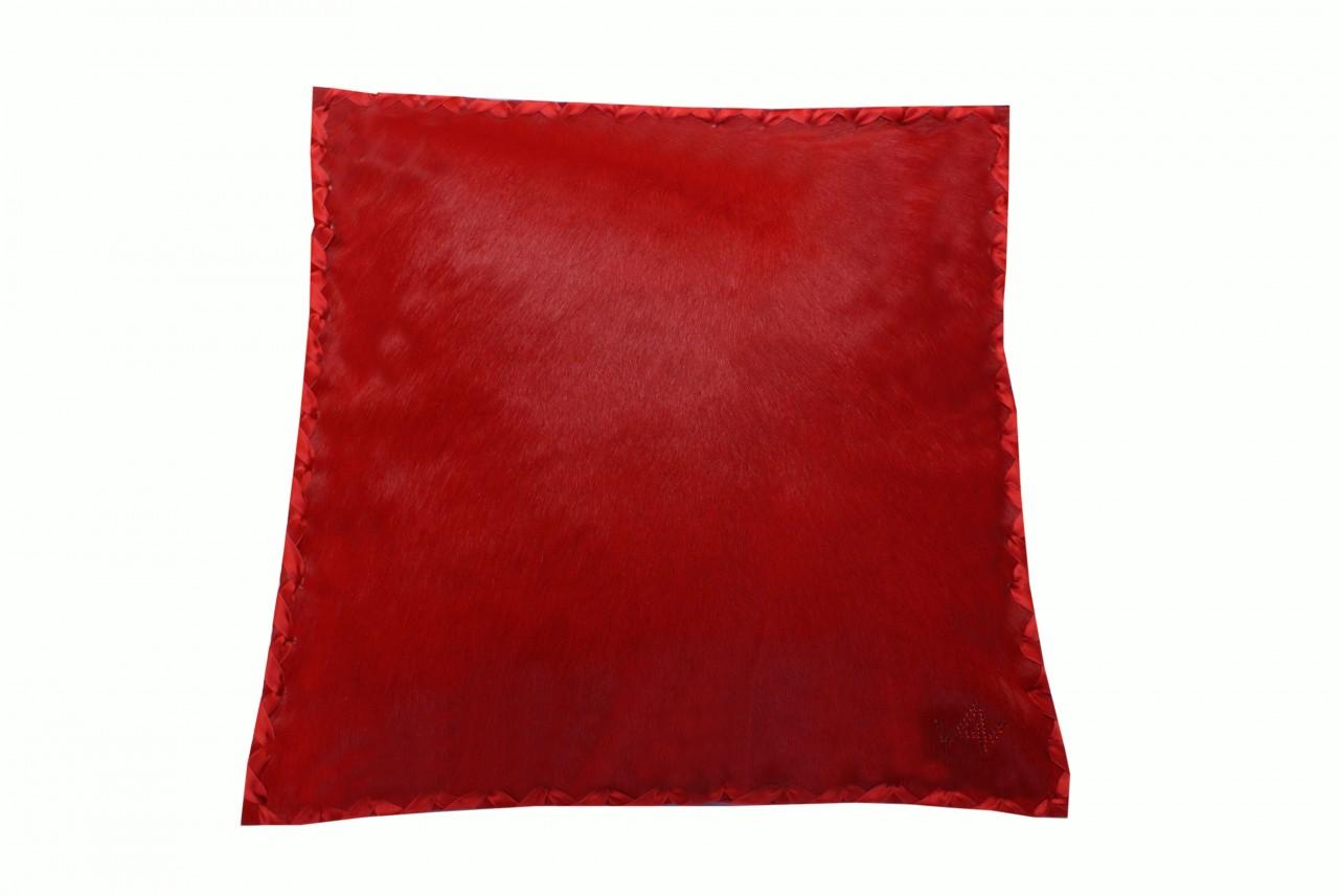 Kissen Fell Exklusiv Rot